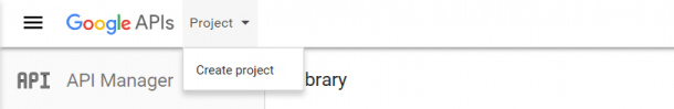 Create-A-проект-Google-облако