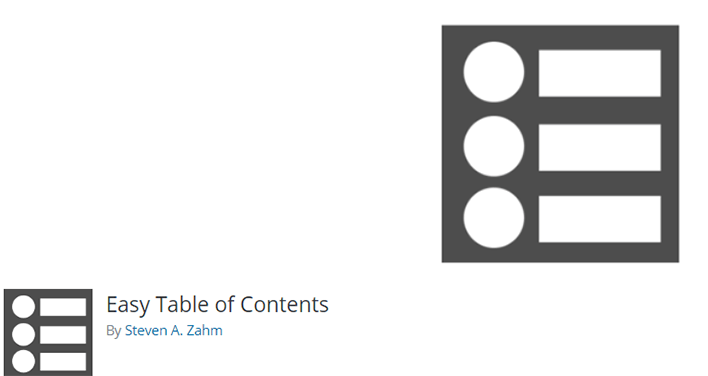 Easy table of contents plugin wordpress table matieres