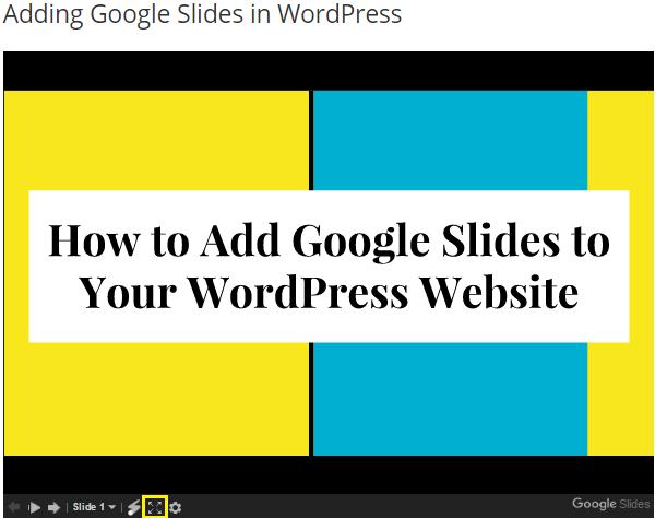 presentation-des-diapositives-en-mode-plein-ecran-sur-wordpress