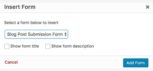 selectionner-un-formulaire-pour-wordpress