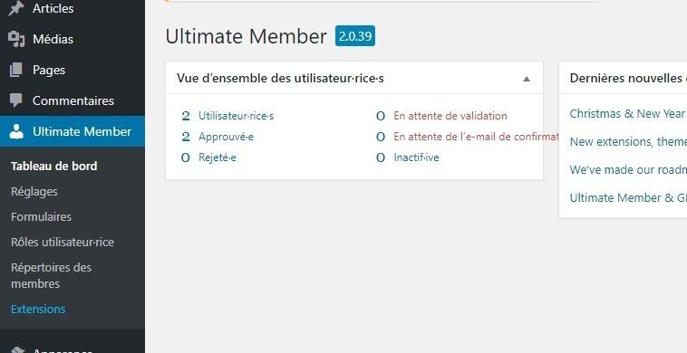 Wordpress plugin seznamka