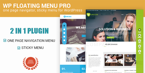 wp-floating-menu-pro-plugin-wordpress-for-menu | BlogPasCher