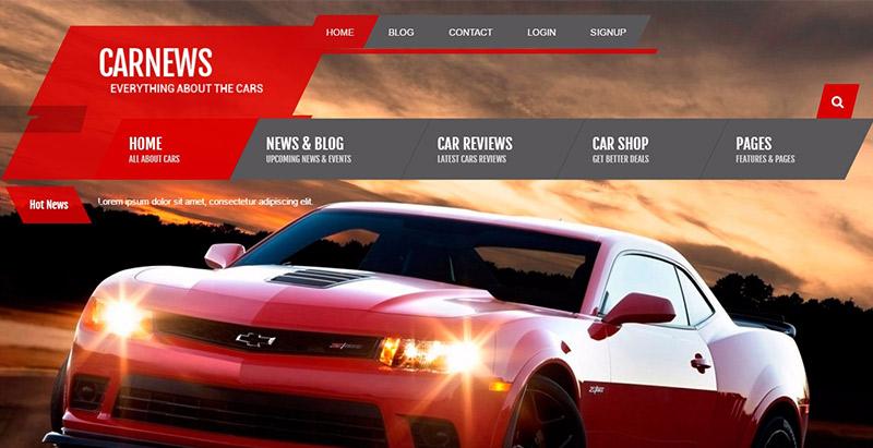 10 Thèmes WordPress Pour Créer Un Site Web De Concessionnaires Automobiles