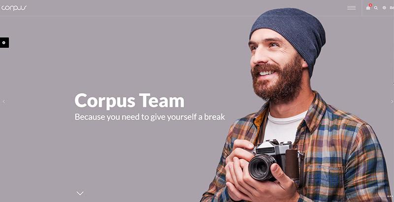 Corpus themes wordpress polyvalents creer site web multipurpose