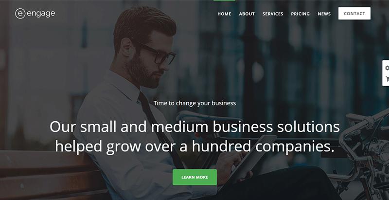 Engage Theme Wordpress