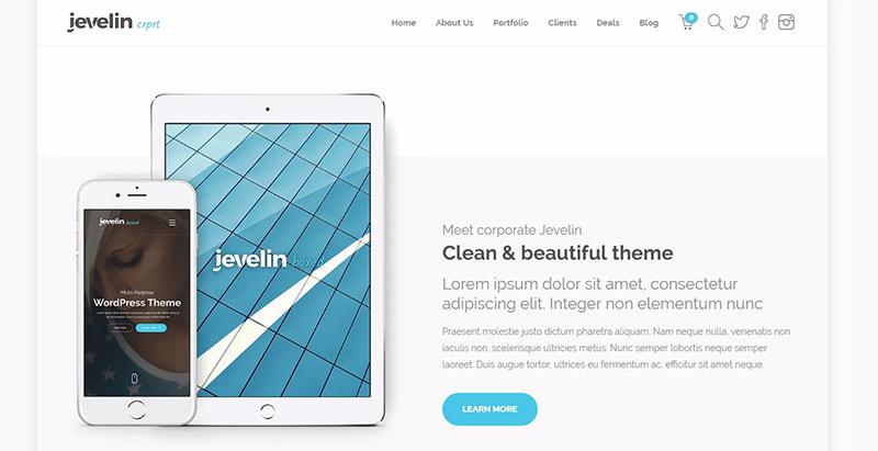 10 temas de WordPress para el sitio web móvil Aplicaciones ...