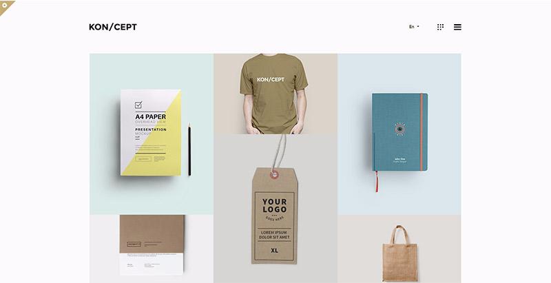 Koncept themes wordpress creer site web designer