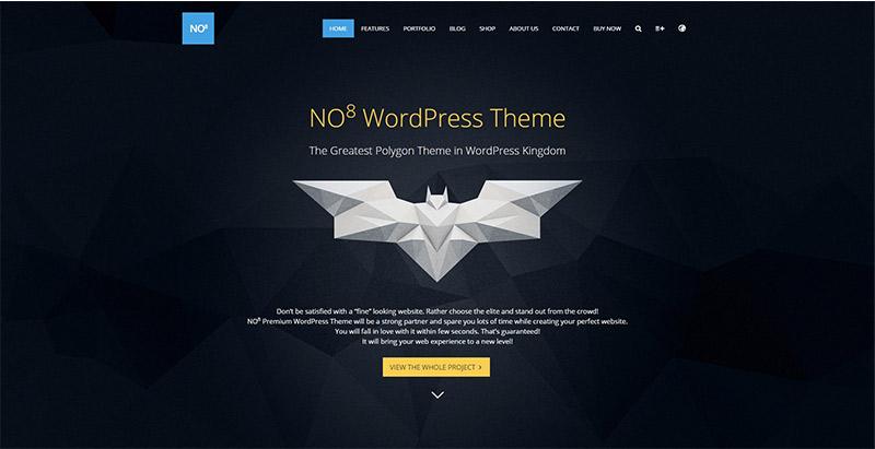 No8 themes wordpress creer site web designer