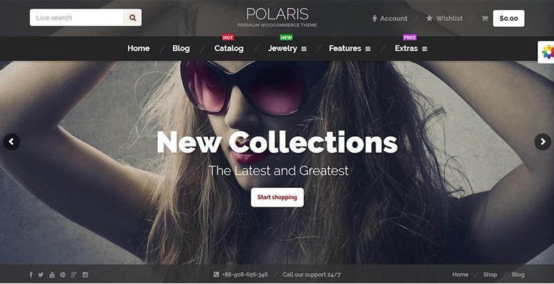 Polaris premium woocommerce theme