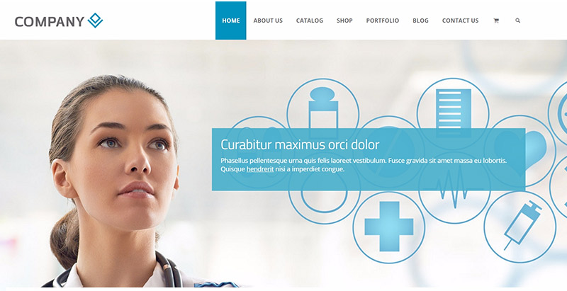 Rt theme 19 themes wordpress creer site web medical clinique