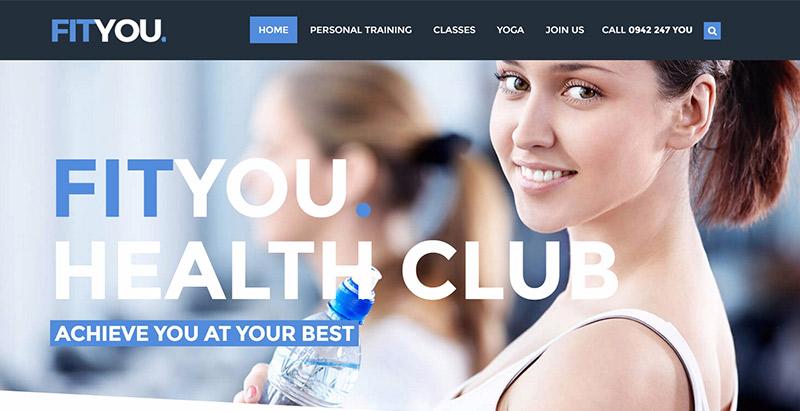 You themes wordpress creer site web club sports fitness gymnase