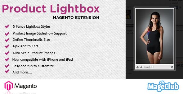 Product lightbox plugin magento pour partage sliders