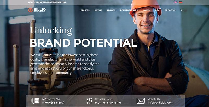 10 Temas de WordPress para crear un sitio web de negocio de la ...