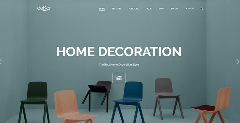 10 th mes wordpress pour cr er un site web d 39 agence de d co int rieure blogpascher for Site de decoration interieure