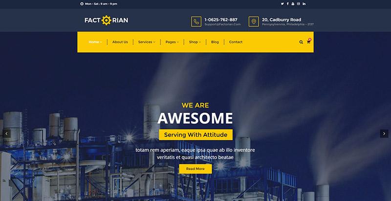 10 th mes wordpress pour cr er un site web d 39 entreprise for Creer une entreprise de service aux entreprises