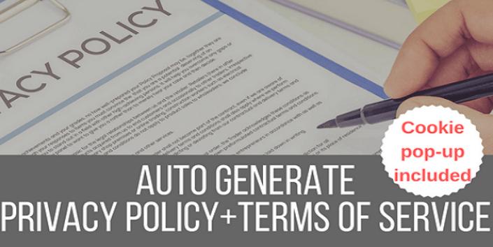 plugins WordPress pour créer une politique de confidentialité - Legalize