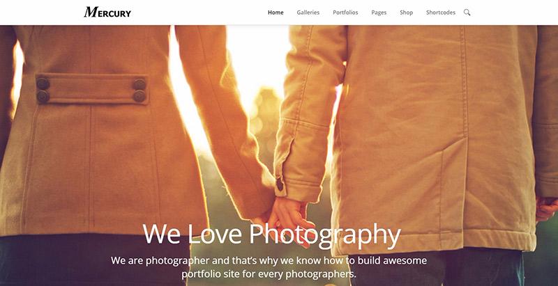 10 temas de WordPress para los fotógrafos crear una página web ...