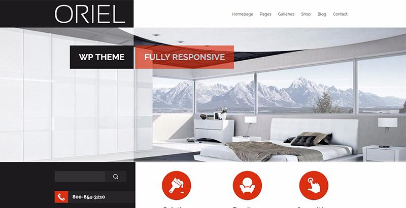 10 Temas de WordPress para crear un sitio web para el interior de la ...