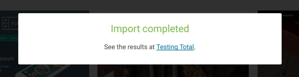Total demo importation 03