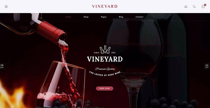 10 thèmes WordPress pour créer un site Web de vente de vin