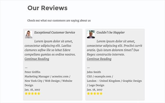 Łatwy przegląd recenzji referencji