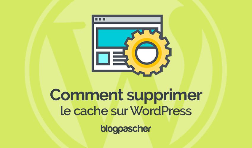 Comment Supprimer Le Cache Sur Wordpress