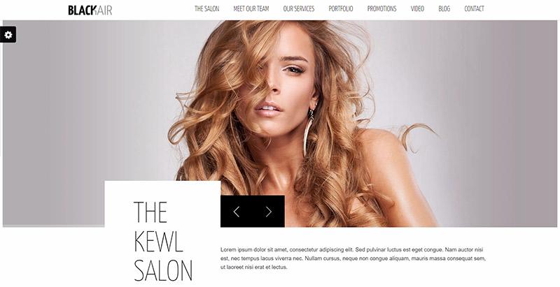 10 th mes wordpress pour cr er un site web de salon de - Ouvrir salon coiffure ...
