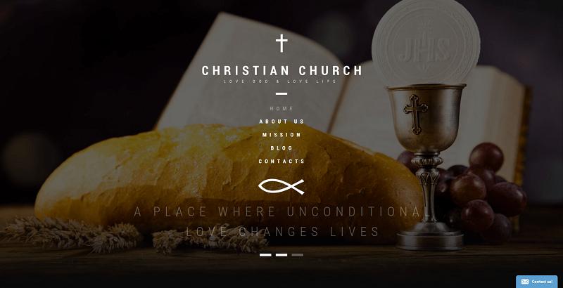 10 Temas de WordPress para crear un sitio web de la iglesia ...
