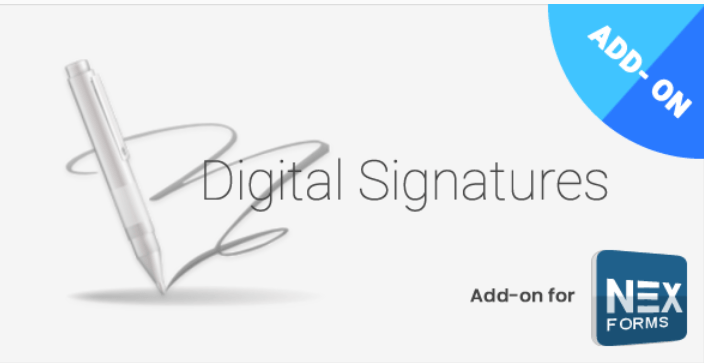 Digital Signatures for NEX Forms