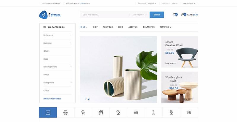 10 WordPress temas para criar uma loja online | BlogPasCher