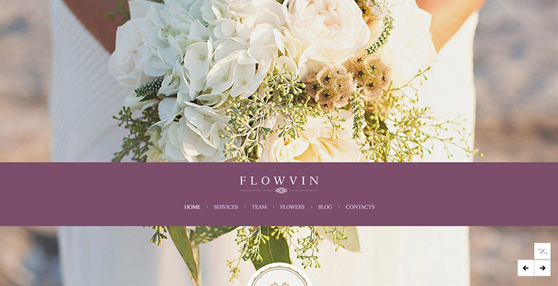 9 Temas de WordPress para crear un sitio web para el florista ...
