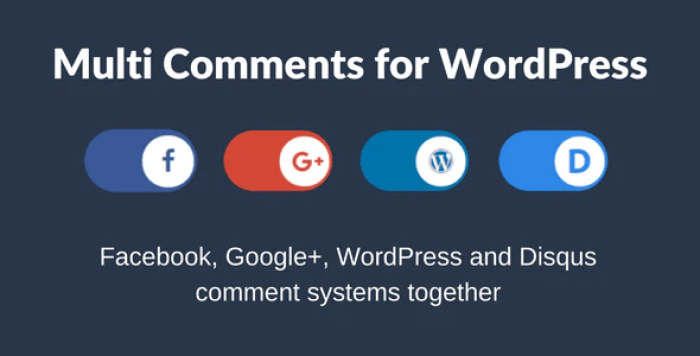 Multi Comments For WordPress VK Comments plugin wordpress