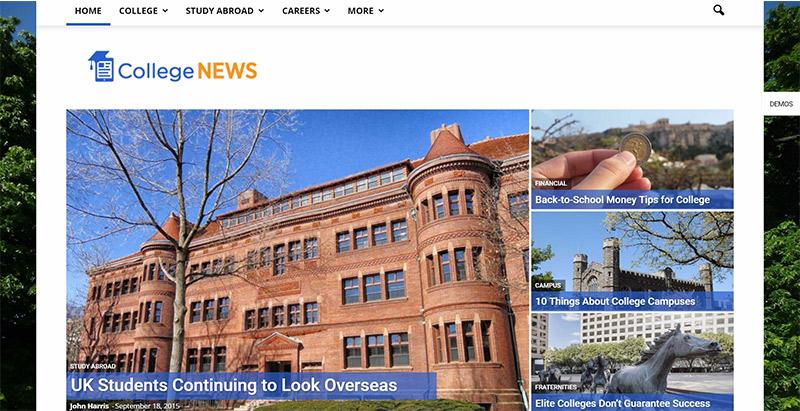 Newspaper themes wordpress creer site web elearning education enseignement apprentissage