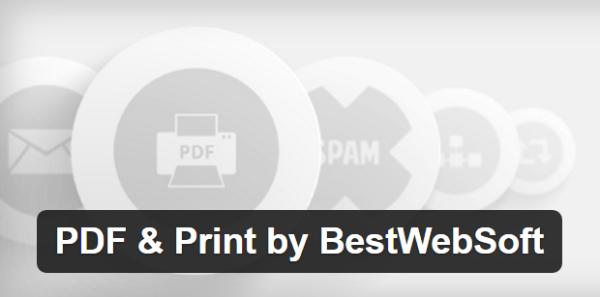 Pdf print by bestwebsoft