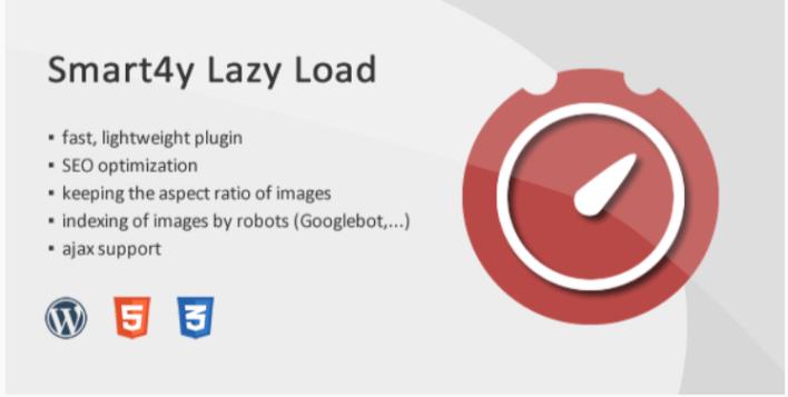 Smart4y lazy load image iframe wordpress plugin