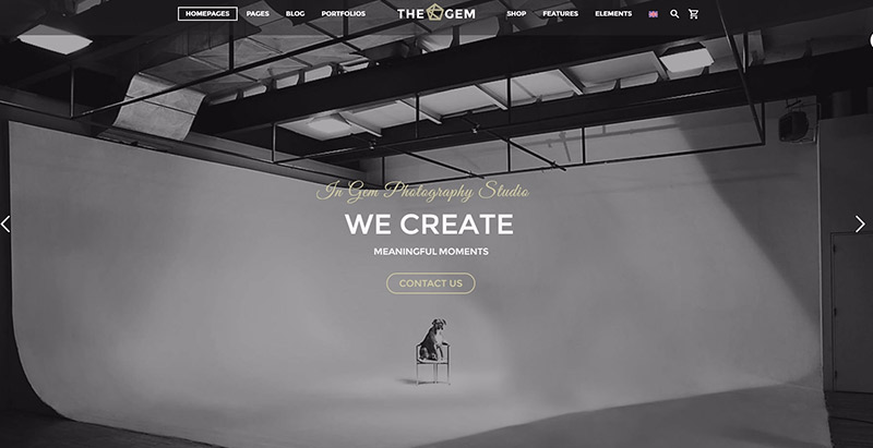 Thegem themes wordpress polyvalents creer site web