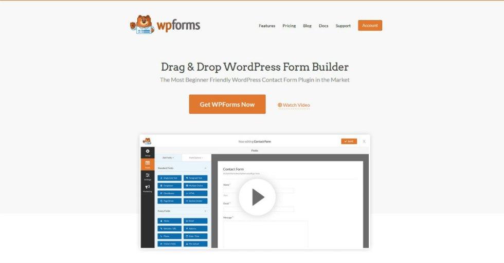 WPForms de revisión: este es el mejor complemento para sus formas ...