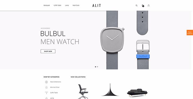 Alit themes wordpress creer boutique ligne ecommerce