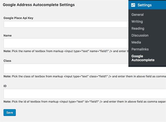 Configurer lautocompletion sur wordpress