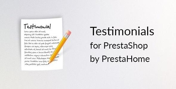 Simple testimonials for prestashop plugin prestashop pour témoignages