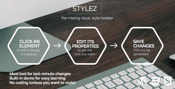 Stylez plugin wordpress pour tweak