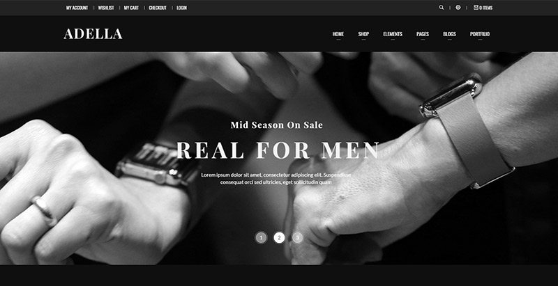 Adella themes wordpress creer site ecommerce multi vendeurs boutique en ligne