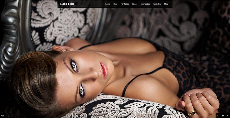 Black Label Themes Wordpress Creer Site Web Photographies Studio Photos