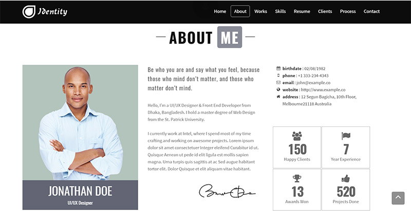 10 th u00e8mes wordpress pour cr u00e9er un site web de cv