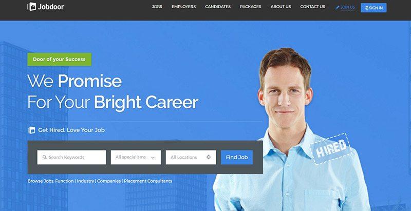 Jobcareer - meilleurs thèmes WordPress d'offres d'emploi