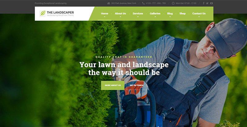 10 Thèmes WordPress Pour Créer Un Site Web Pour Entreprise De Jardinage