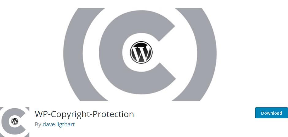 Wp copyright protection plugin wordpress