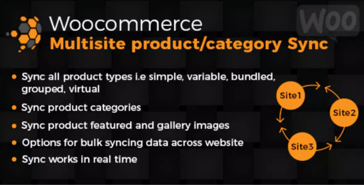 Woocommerce multisite product category sync