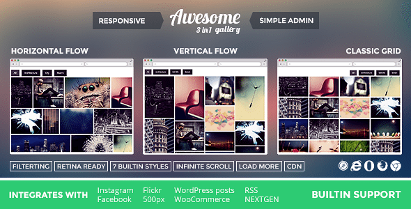 awesome-gallery-plugin-wordpress-for-flickr-gallery | BlogPasCher