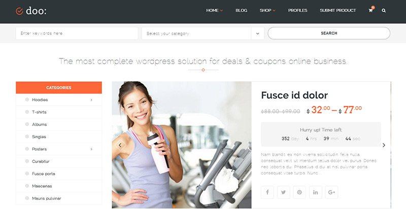 10 Temas de WordPress para crear un mercado | BlogPasCher